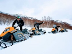 50%OFF!! Snowmobile Tour in HAKUBA