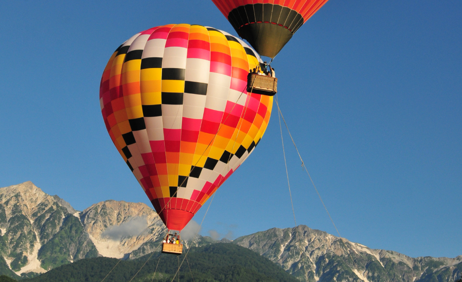 熱気球係留体験