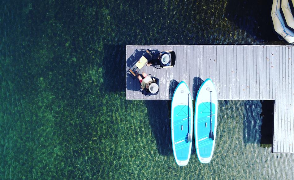 青木湖Morning-SUPレンタル