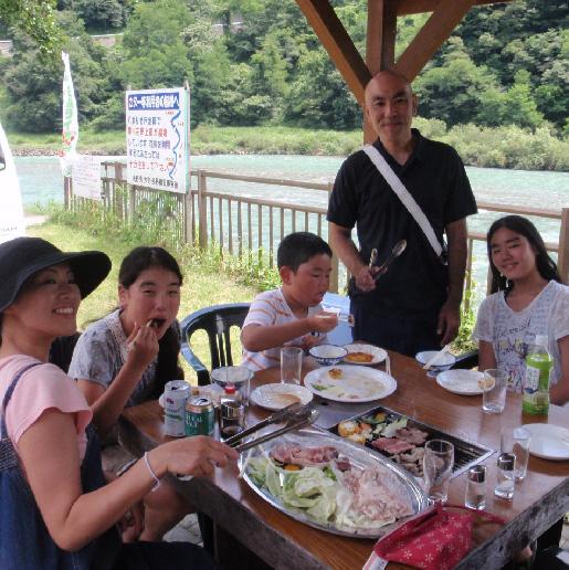 犀川ラフティング&BBQ