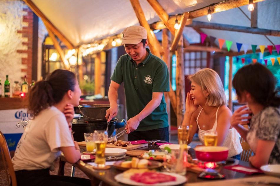 姫川ラフティング & グランピング BBQ