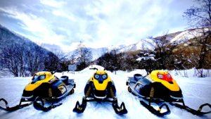 Snowmobile tour in HAKUBA 予約受付中!!