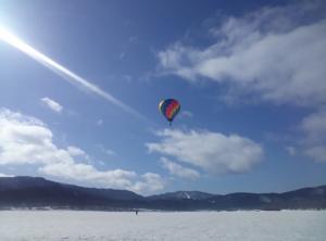 熱気球フリーフライト