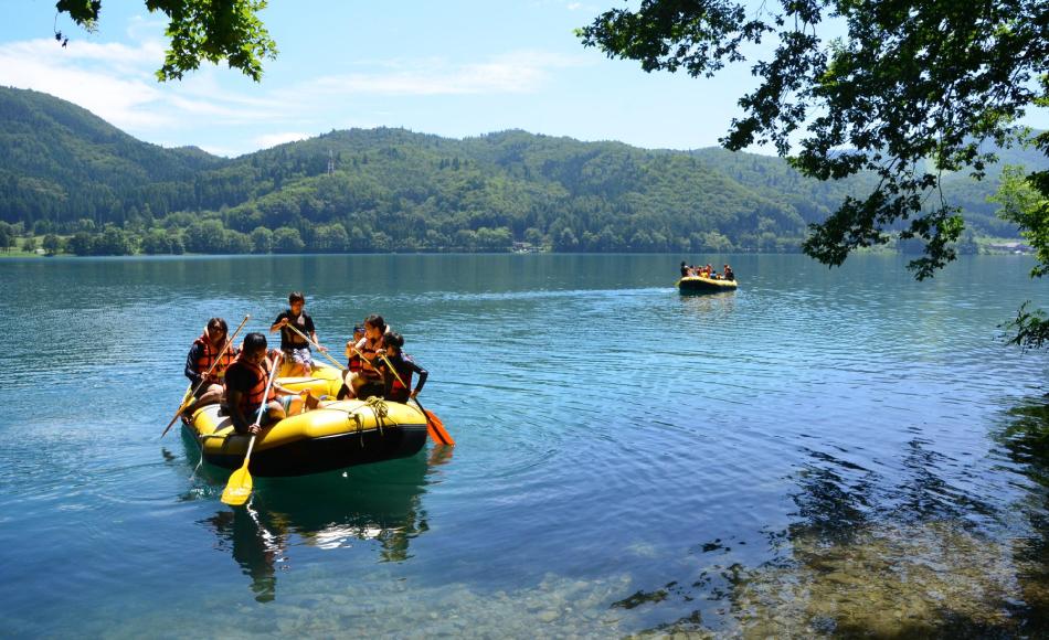 Lake Aoki Rafting Picnic