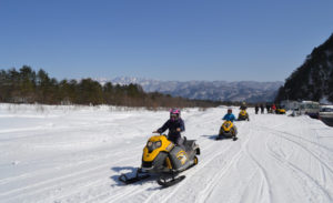 Snowmobile Tours Suspension