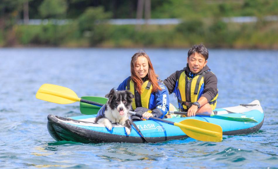 Dog & Air Canoe