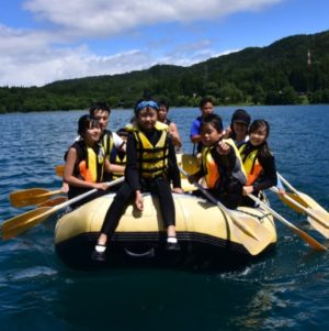 Lake Aoki Rafting Picnic