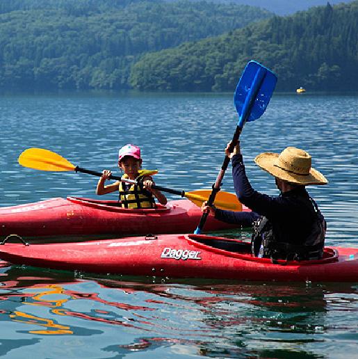 Lake Aoki Kayaking