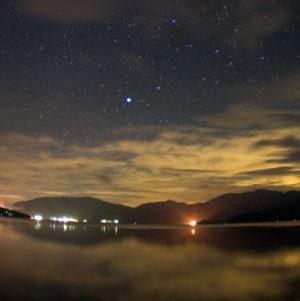 Night Lake Cruise