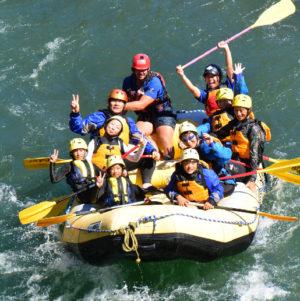 Saigawa River Rafting