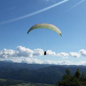 Paraglider Tandem Flight