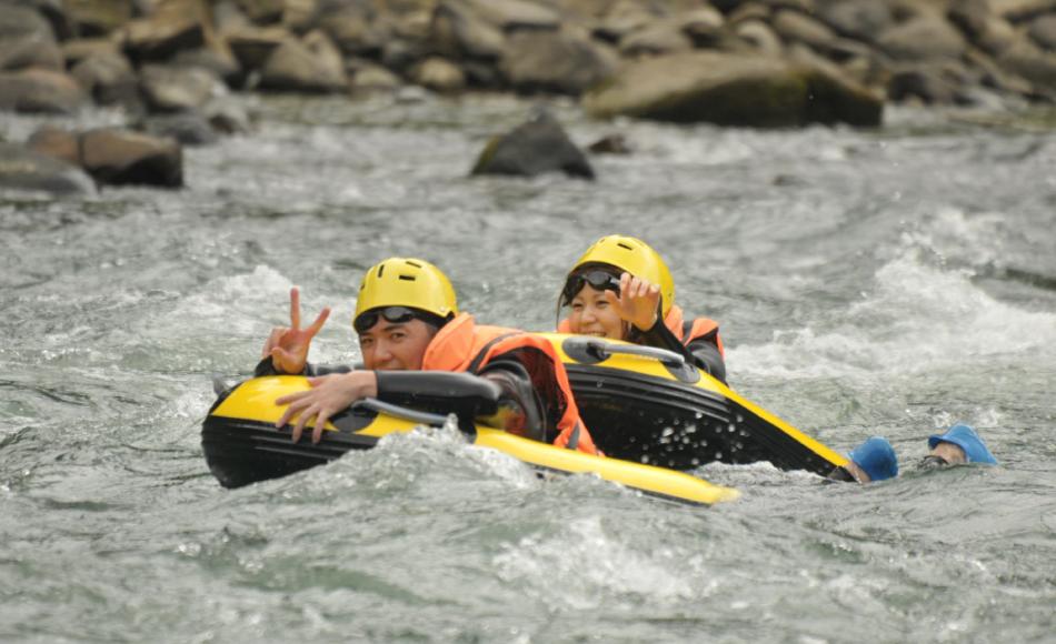 Saigawa Hydrospeed (Riverboarding)