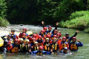 Hakuba Himekawa rafting tour is held again!